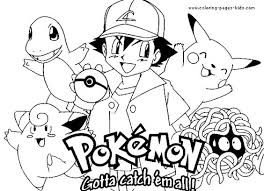 Pokemon Christmas Coloring Page Free Download