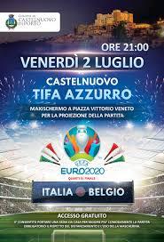 europei di calcio 2021 – castelnuovo tifa azzurro!