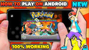 How To Download & Play Pokemon Mega Adventure On Android (No Lag) - YouTube
