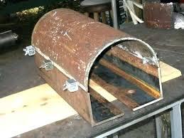 mailbox post ideas. Homemade Mailbox Post Ideas Metal