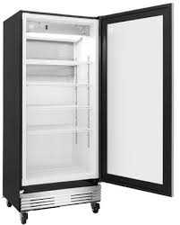 fcgm181rqb frigidaire commercial 18 4 cu ft glass door merchandiser refrigerator stainless steel with glass door