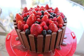 Valentine Fruit Veggie Teens Valentines Chocolate Fruit Basket Cake