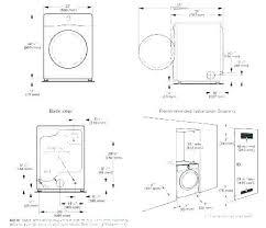 Standard Washer Dryer Dimensions Wecreatecareers Co