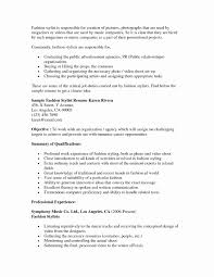 Clinical Research Coordinator Resume Sample Creative Fashion Stylist