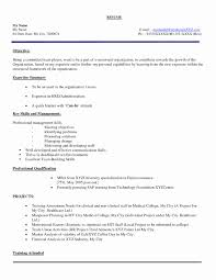Best Of Freshers Resume Format Word Document Resume Ideas