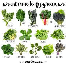 Lettuce Types Chart Leafy Greens Kitchen Cancer Killers Purple Kale Collard