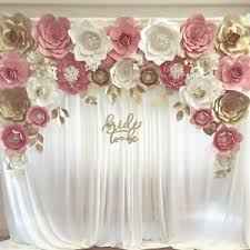 Paper Flower Backdrop Rental High End Wedding Backdrops At Affordable Prices 250