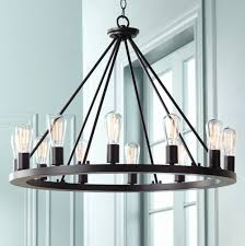 franklin iron works lacey round black inch w chandelier lighting magnificent charleston hickory point reviews exterior