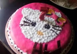 Resep Kue Ultah Hello Kitty