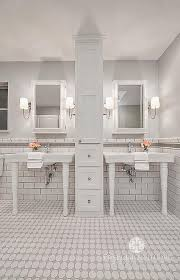 white and grey bathroom tiles transitional gray and white bathroom tiles with border i59 tiles