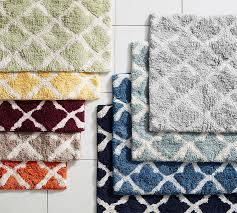 perfect trellis bath rug marlo bath rug pottery barn