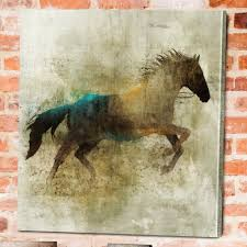widely used shadow rider horse canvas wall art gallery 2 of 15  on shadow rider horse canvas wall art with gallery of horses canvas wall art view 2 of 15 photos