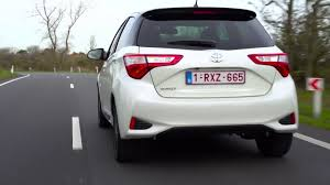 2017 Toyota Yaris Driving Video in White   AutoMotoTV - YouTube