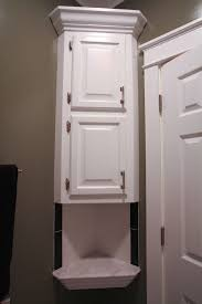White Corner Bathroom Cabinet Small Bathroom Cabinets White