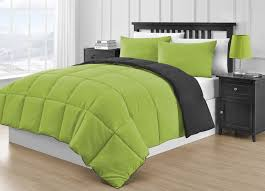 Lime Green Bedroom Accessories Total Fab Lime Green And Grey Bedding Sets