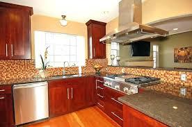 striking cherry wood kitchen cabinet cabinets