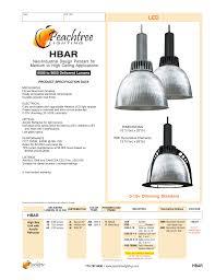 Peachtree Lighting Hbar Peachtree Lighting Manualzz Com