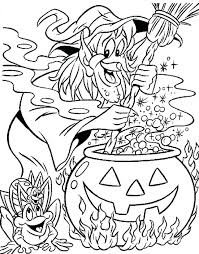Coloring Pages Halloween Witch Homelandsecuritynews