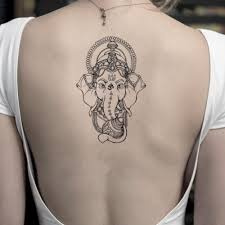 Ganesha East Indian Temporary Tattoo Sticker Set Of 2