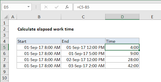 Hour Sheet Calculator Excel Formula Calculate Number Of Hours Between Two Times