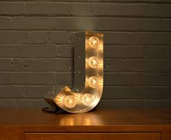 lighting letters. light up marquee bulb letters j lighting