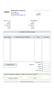 free invoice form free invoice template free printable invoice maker inspirational perfect sample of plumbing service billing invoice form template of free invoice template