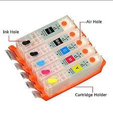 INKWAY PGI-270XL CLI-271XL Refillable Ink Cartridge <b>1 Set</b>(Empty ...