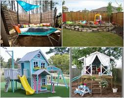 12 Super Cool Ideas for a Backyard Kids' Play Area 1