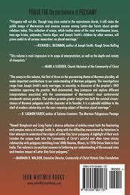the persistence of polygamy joseph smith and the origins of the persistence of polygamy joseph smith and the origins of mormon polygamy newell g bringhurst craig l foster 9781934901137 com books