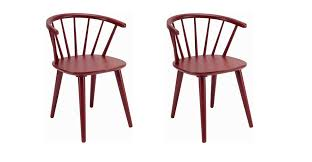 red wood dining chairs. Furniture: Red Wood Dining Chairs Stylish Captivating Small Room Sets With Rectangle Brown Intended For