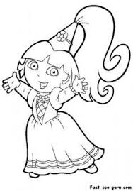 Small Picture Awesome Dora Coloring Pages Wallpaper For Your Student http