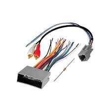 american international® fwh694 aftermarket radio wiring harness american international® aftermarket radio wiring harness oem plug amplifier integration and rca