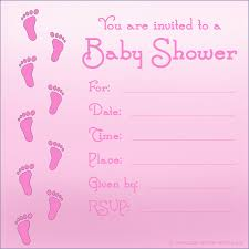 baby shower invite template word free printable baby shower invitations for girls invitations