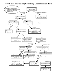Choosing Appropriate Statistics Test Flow Chart