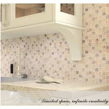 Light Gold Glass Mosaic Resin Conch Shell Marble Tile Wall Backsplash Awesome Resin Backsplash Ideas