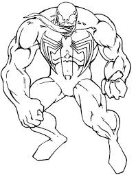 The thing is, venom is entirely a sony project, not an mcu. Coloring Page Venom Coloring Home