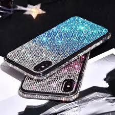 <b>Luxury Gradient</b> Rhinestone Case For IPhone 11 Pro Max Bling ...