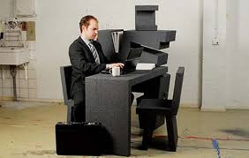 compact office. Via Compact Office