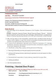 International Controller Resume International Controller Resume