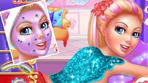 super barbie spa day gameplay super barbie games s makeover games you