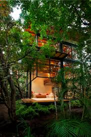 Exotic Tree Houses Exotic Complex Of Wooden Houses Icreatived