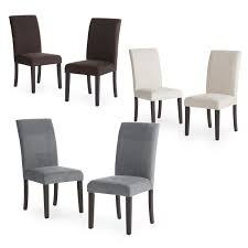 set of 2 parson dining chairs. set of 2 parson dining chairs