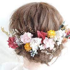 成人 式 髪 飾り