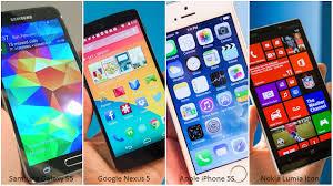 Nokia Comparison Chart Galaxy S5 Vs Nexus 5 Iphone 5s Lumia Icon Specs Comparison