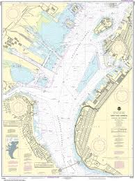 Chart Of New York Harbor Noaa Nautical Chart 12334 New York Harbor Upper Bay And Narrows Anchorage Chart
