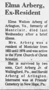 Obituary for Elma Walton Arberg - Newspapers.com