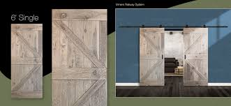 double z panel rustic antique white oak wood single door