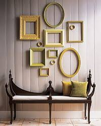 How to use Empty Frames to Decorate the Wall