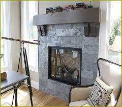 slate fireplace mantel