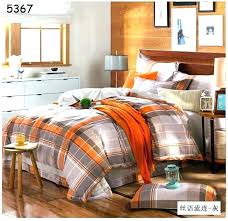 burnt orange comforters bedding sets duvet cover sheets bedspread queen property quilt and covers for 6